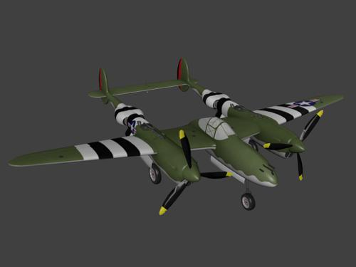 lockheed p-38 lightning preview image