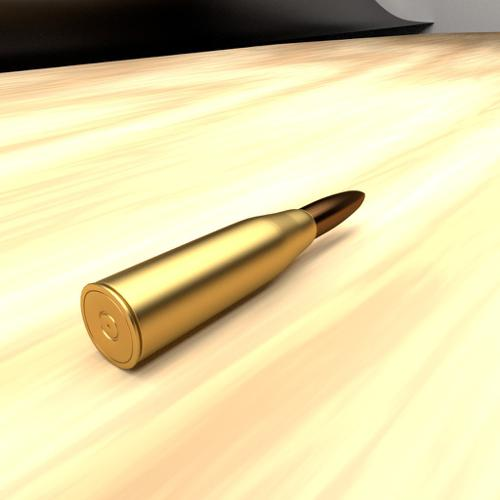 Bullet with cartridge/casing preview image