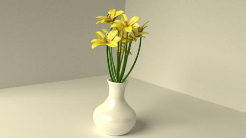Flowers in vasw preview image