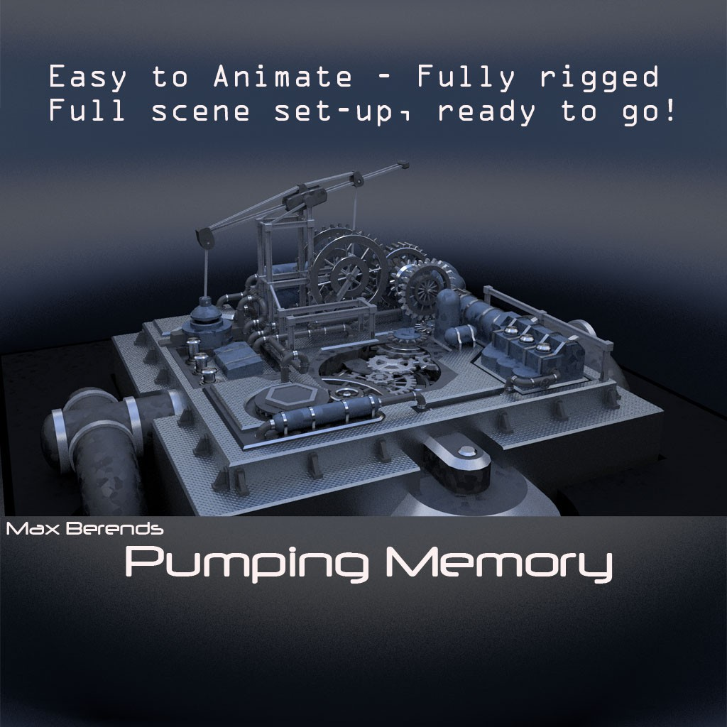 Pumping Memory,Easy-use! Fully functional, rigged Machine  preview image 1