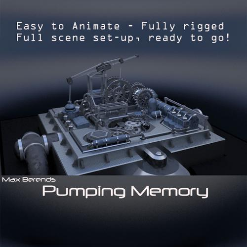 Pumping Memory,Easy-use! Fully functional, rigged Machine  preview image