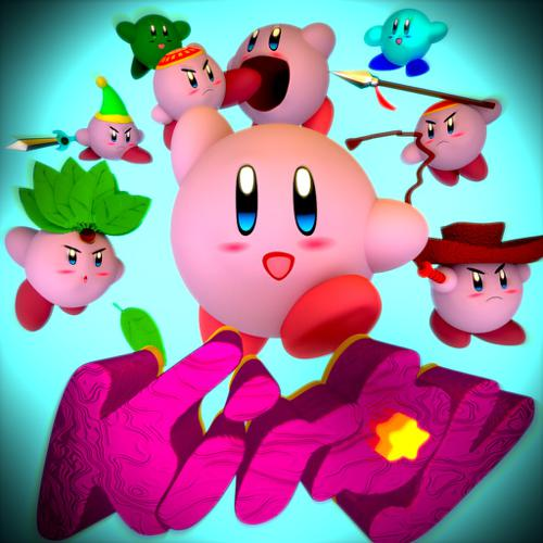 Kirby in Cycles preview image