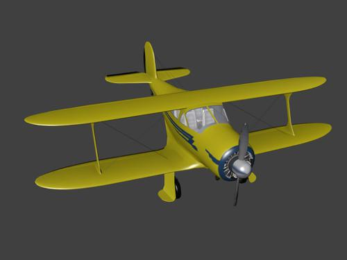 Beechcraft Model 17 Staggerwing preview image