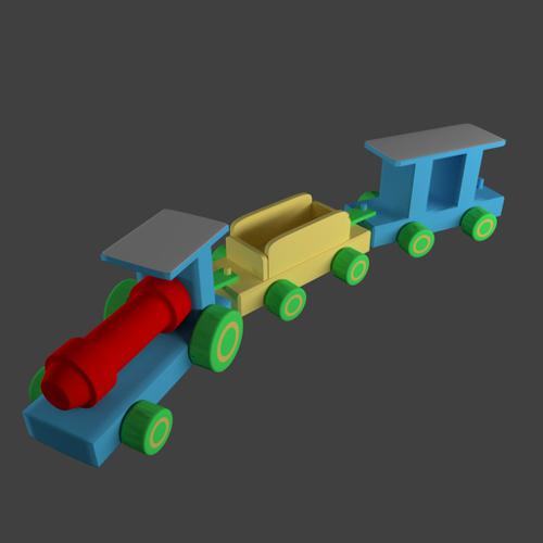 My daughter's train preview image