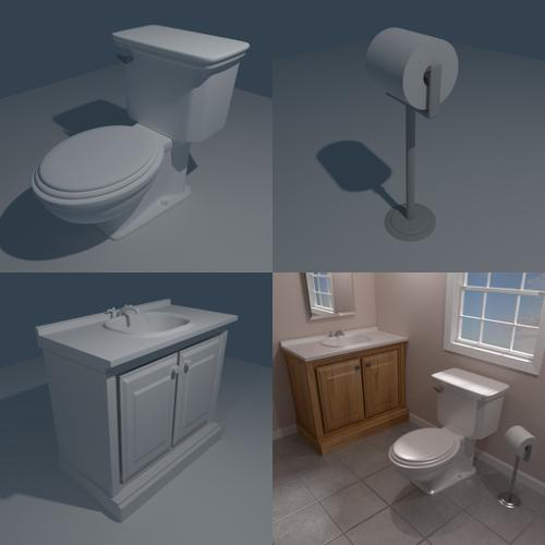 Bathroom Objects preview image