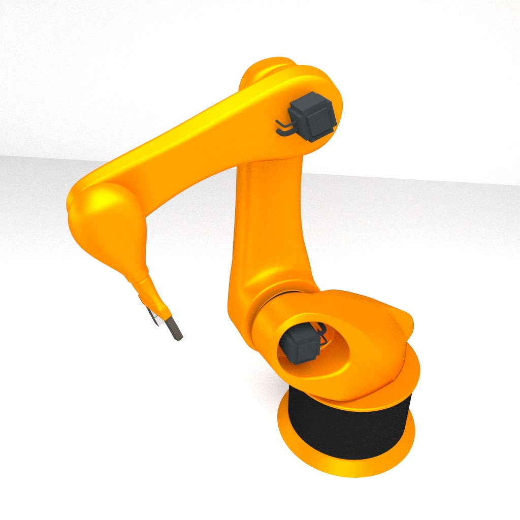Rigged Robotic Arm preview image 1