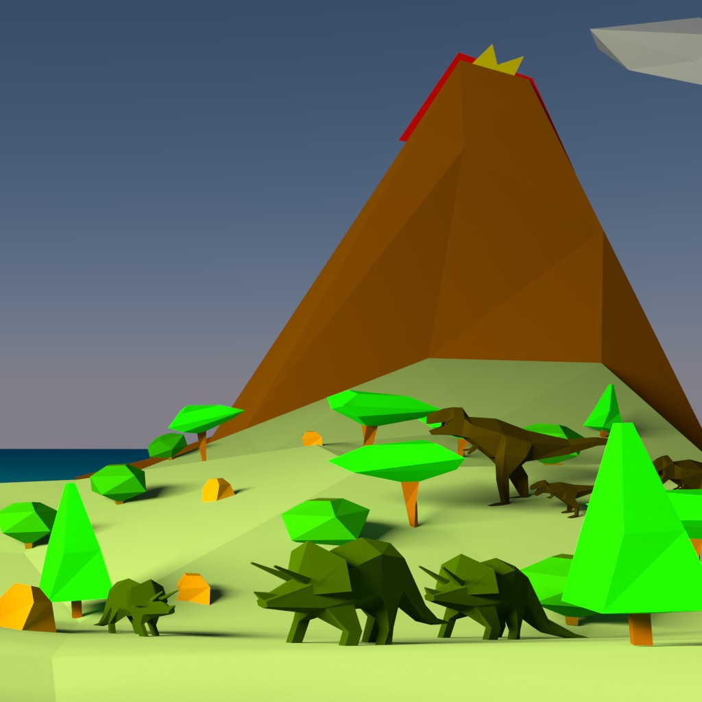 Land of the lost polygons preview image 1