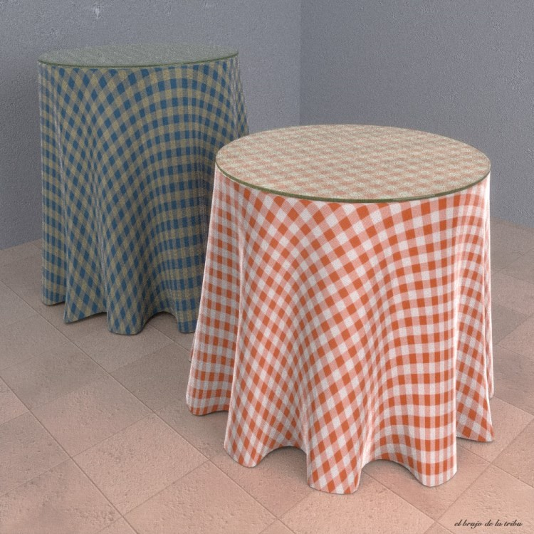 Tablecloth Fabric Material for Cycles preview image 4