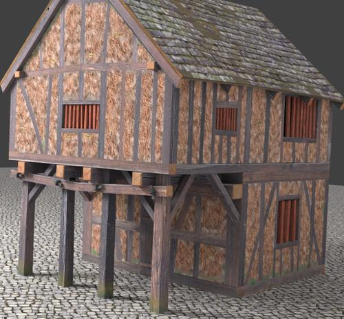 Timbered medieval House preview image