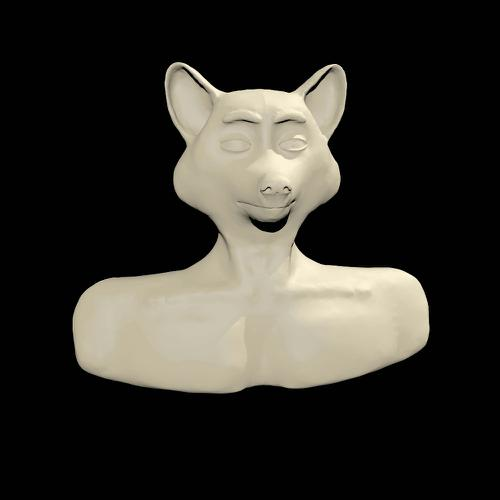 Anthro Raccoon Sculpt preview image