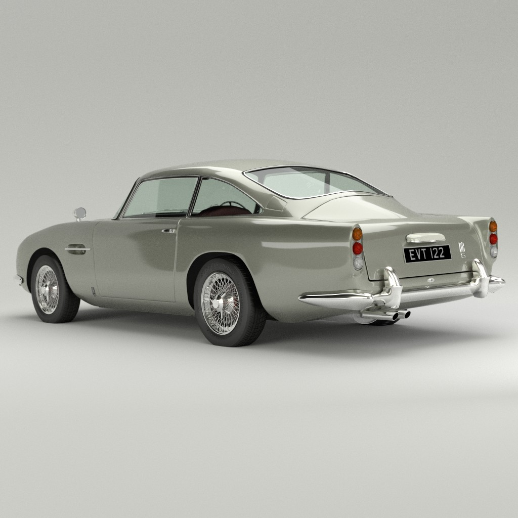 Aston Martin DB5 preview image 2