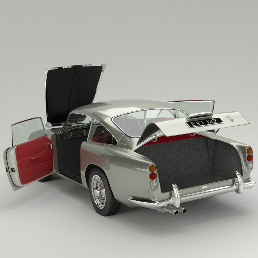 Aston Martin DB5 preview image 3