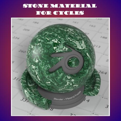 Stone Material for Cycles preview image