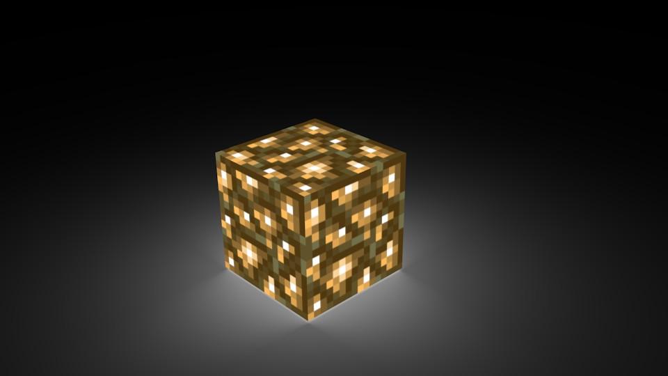 как сделать светящийся блок в майнкрафт #6