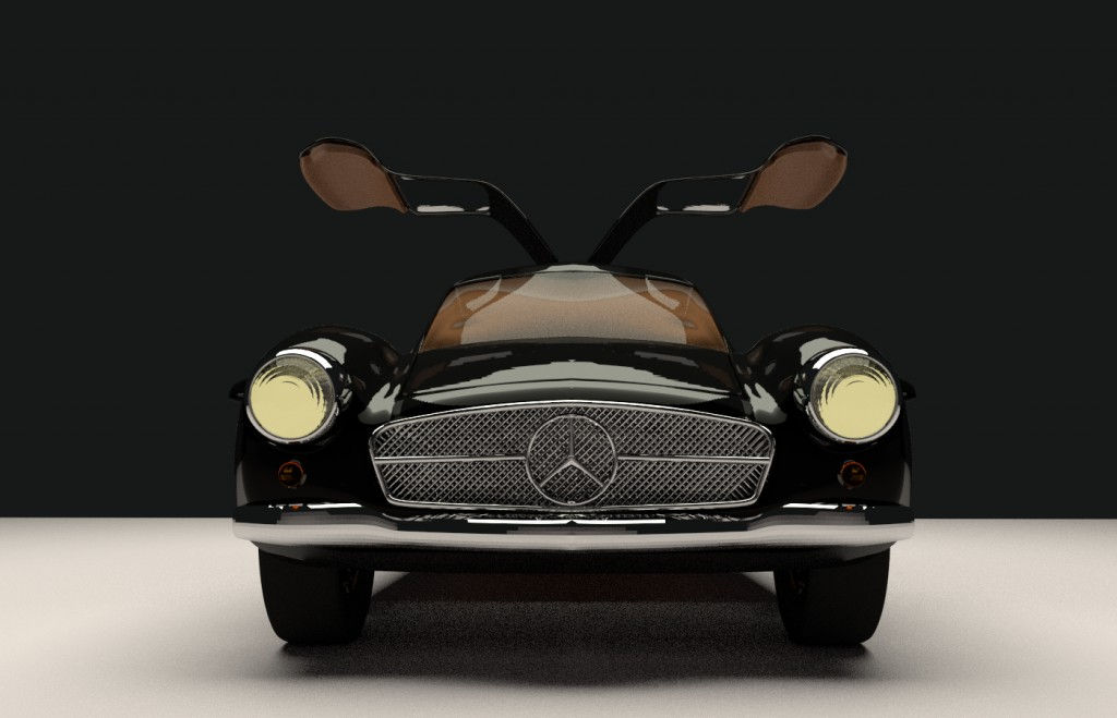 Mercedes 300 SL (Cycles) preview image 1