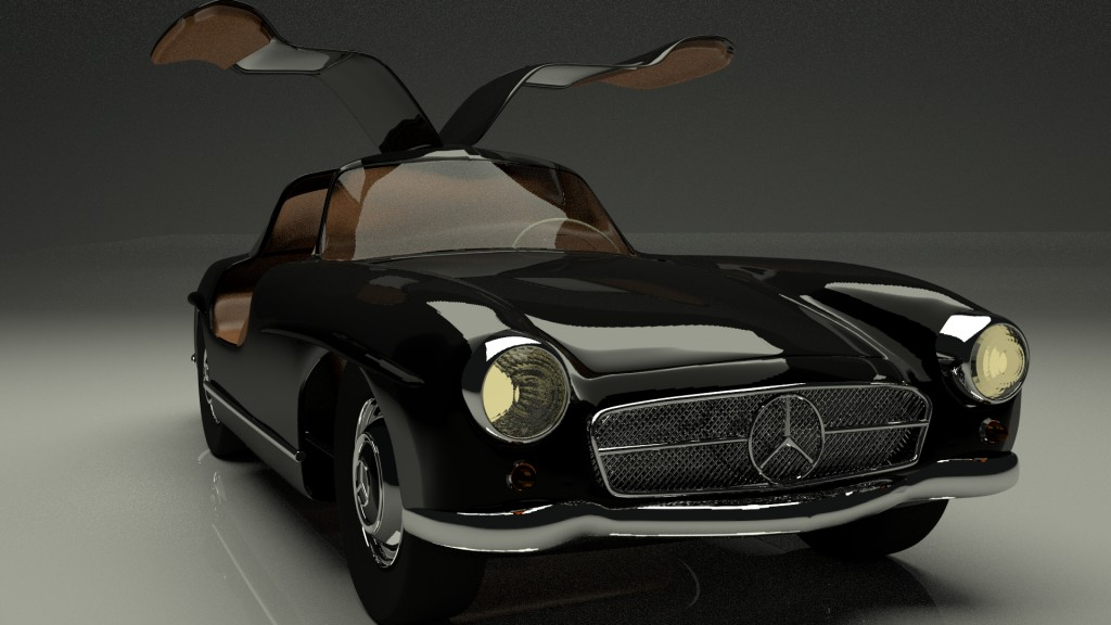 Mercedes 300 SL (Cycles) preview image 2