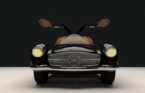 Mercedes 300 SL (Cycles) preview image