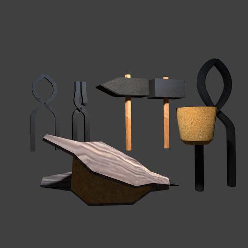 Blacksmith' Tools collection preview image