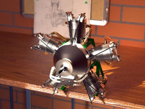Radial Engine preview image