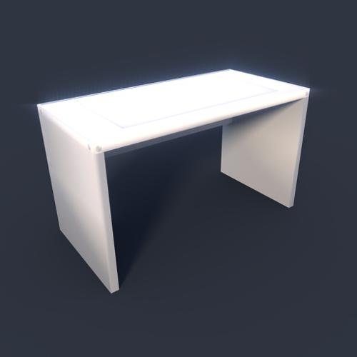 lowpoly Simple Table preview image