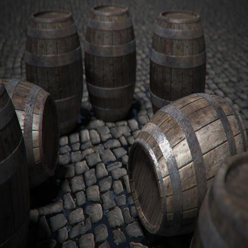 Wooden Barrels preview image