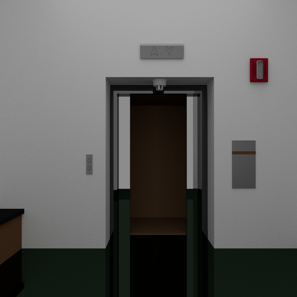 elevator at the end of the hall preview image 4