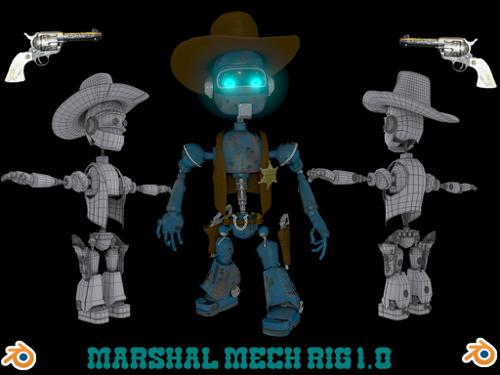 Marshal Mech 1.0 preview image