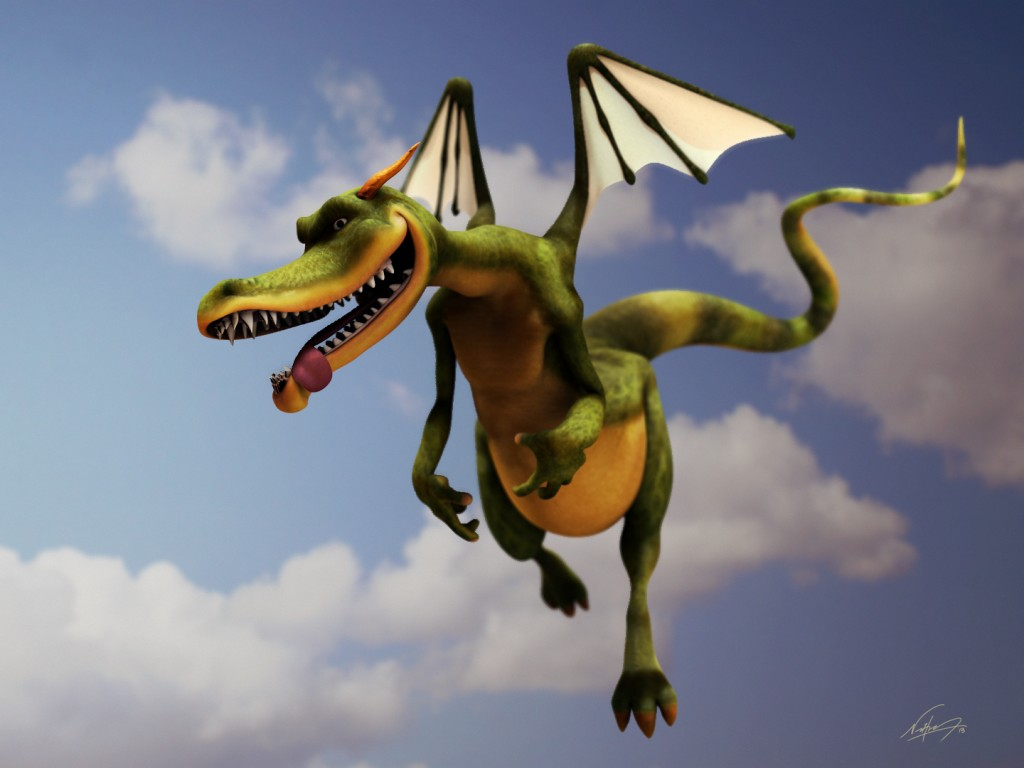 Cartoon Dragon preview image 1