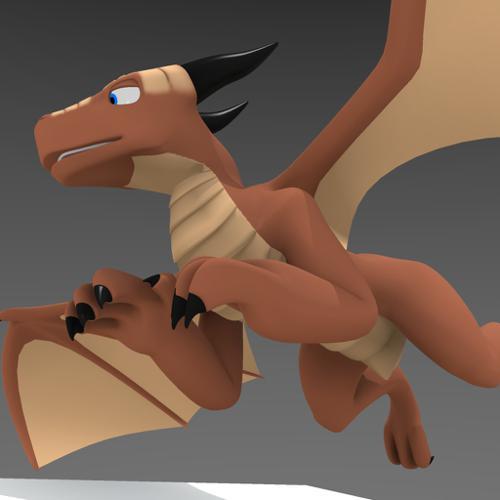 Generic 3D Dragon preview image