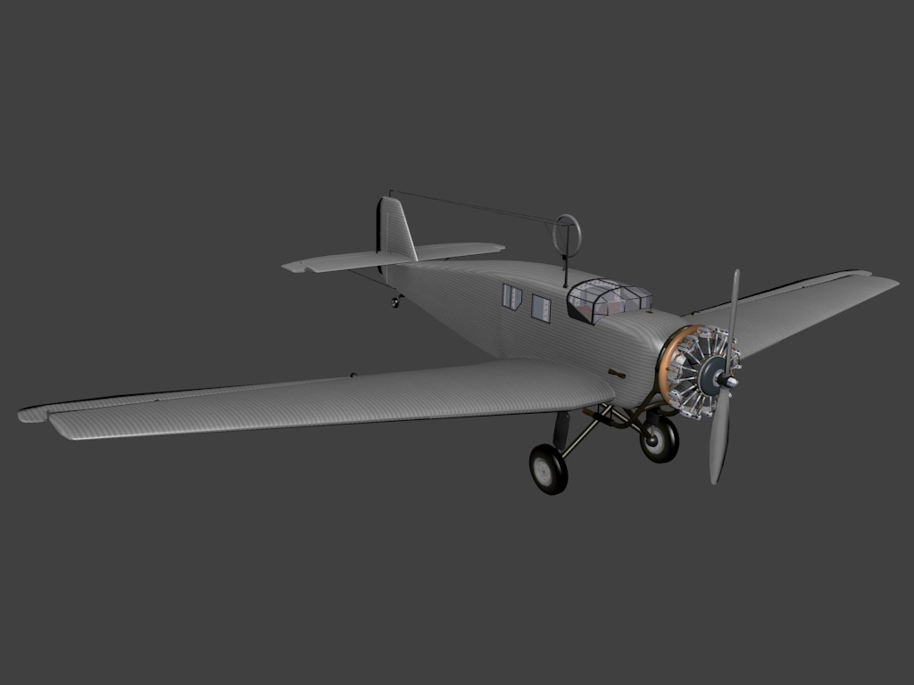 Junkers W34 preview image 1