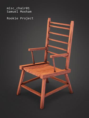 RookieProject - Simple Chair preview image