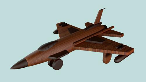 Wooden Airfighter preview image