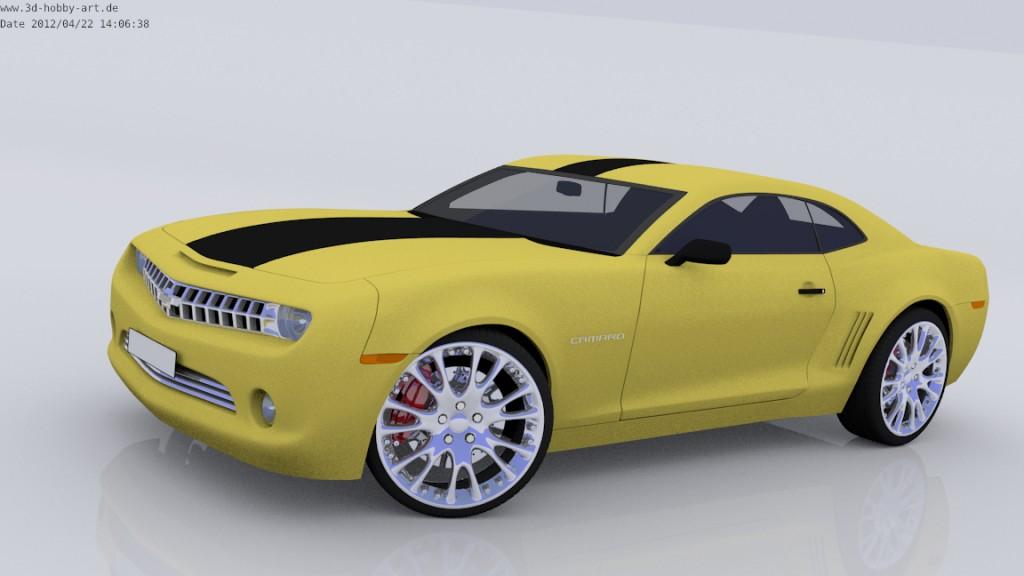Blend Swap Transformers Camaro Transformed And Car Ver 0 0 1