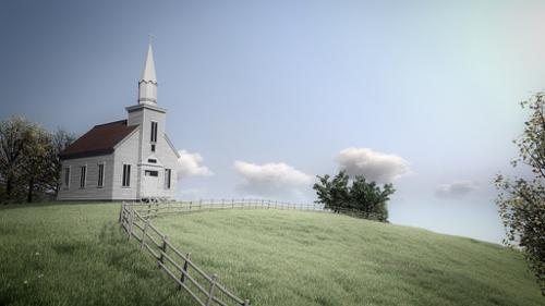 Little Church Model preview image
