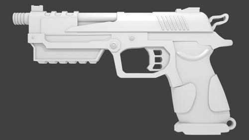 B23R pistol from C.O.D. preview image