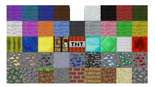 Minecraft blocks preview image