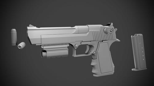 Desert Eagle Action Express .50 preview image