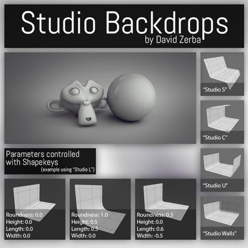 Studio Backdrops preview image