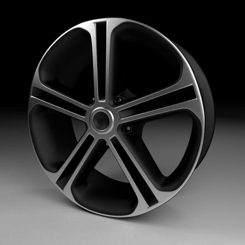 High-Poly Wheel 2 preview image