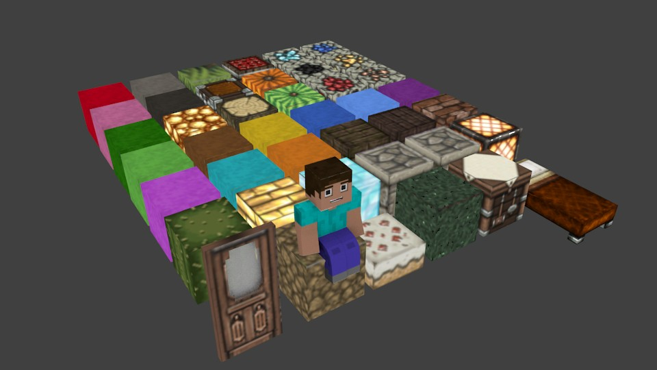 minecraft Blocks Pack preview image 1