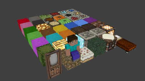 minecraft Blocks Pack preview image