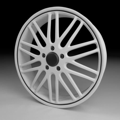 High-Poly Wheel 4 preview image