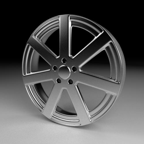 High-Poly Wheel 5 preview image