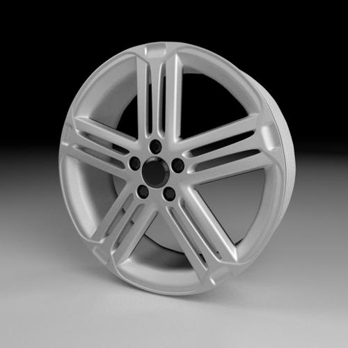 High-Poly Wheel 6 preview image