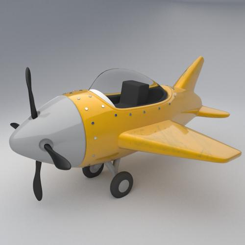 Toy plane preview image