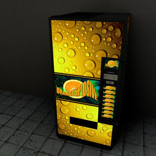 Orangesplosive Cola Vending Machine preview image