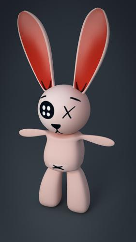 Rabbit doll preview image