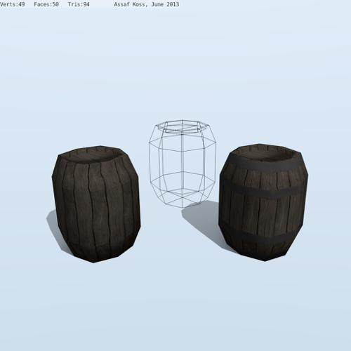 Wood Barrel preview image