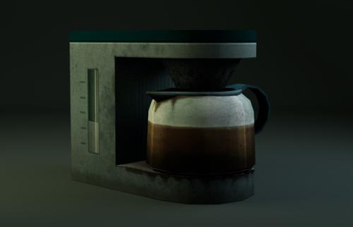 Dirty coffee machine preview image