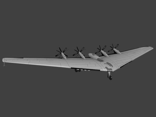 Northrop xb 35 preview image